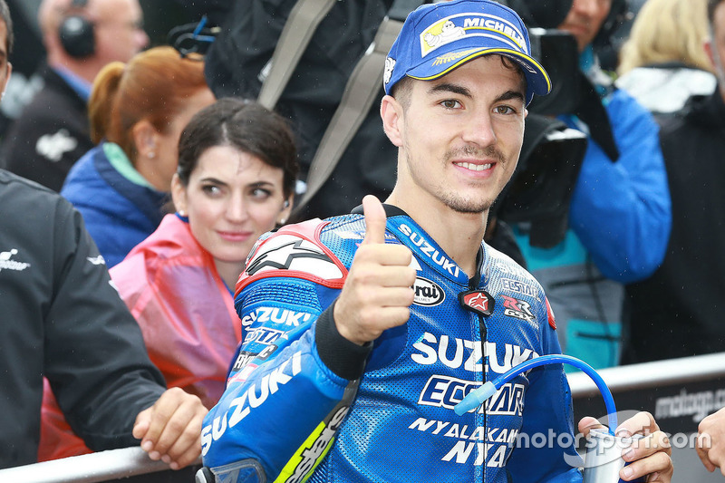 Thrid position: Maverick Viñales, Team Suzuki MotoGP