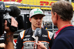 Nico Hulkenberg, Sahara Force India F1 with David Coulthard, Red Bull Racing and Scuderia Toro Advis