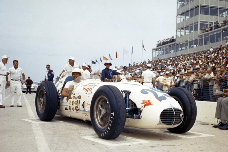 1958: Rookie A.J .Foyt