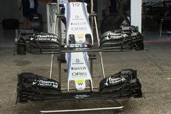 Детали переднего крыла Williams FW38