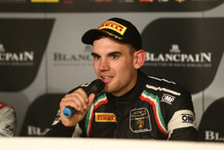 Pole positionfor #19 GRT Grasser Racing Team, Lamborghini Huracan GT3: Luca Stolz