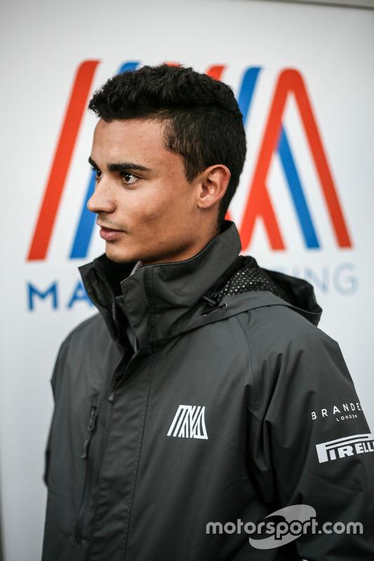 Pascal Wehrlein, Manor Racing met de media