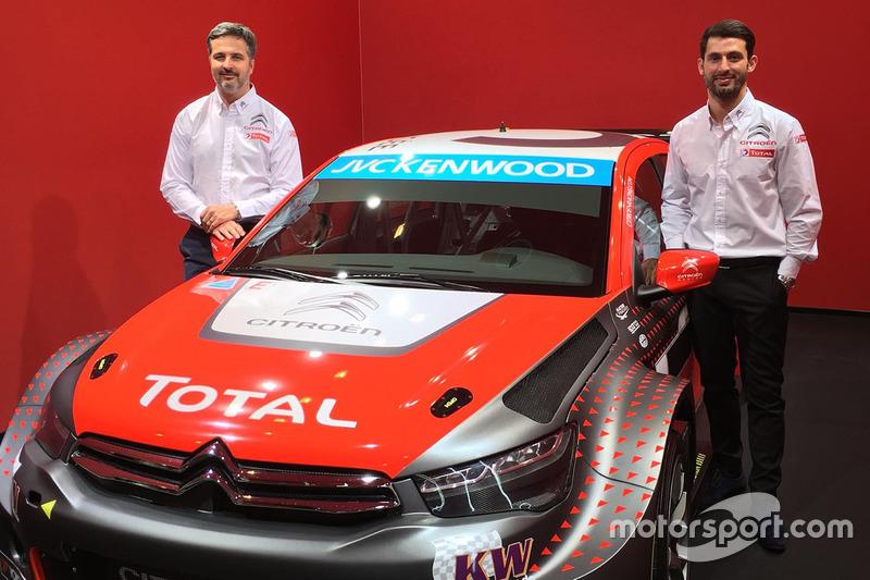 Yvan Muller und Jose Maria Lopez mit dem Citroën C-Elysée 2016