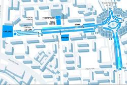 Конфигурация трассы в Берлине