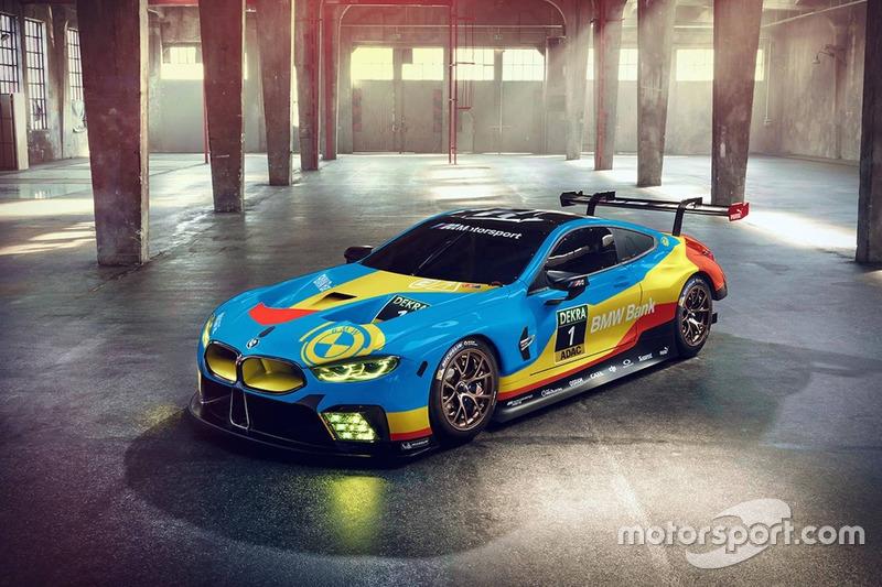 Рендер BMW M8 GTE Art Car