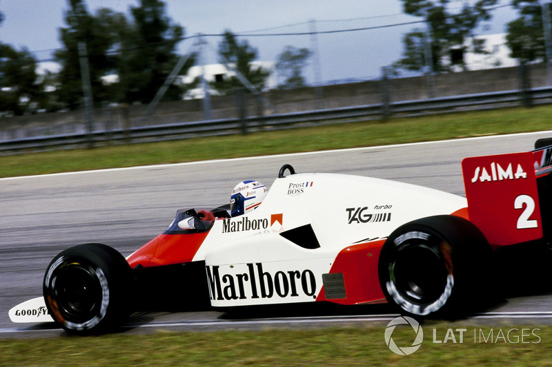 1985 - Alain Prost, McLaren TAG-Porsche