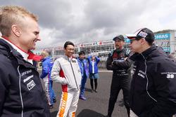 Jenson Button, Team Kunimitsu, Heikki Kovalainen, Lexus Team Sard, Kamui Kobayashi, Lexus Team Sard, Kazuki Nakajima, Team Tom's