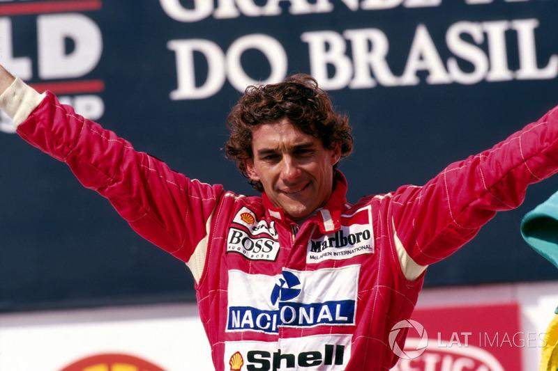 6º Ayrton Senna: 96 grandes premios