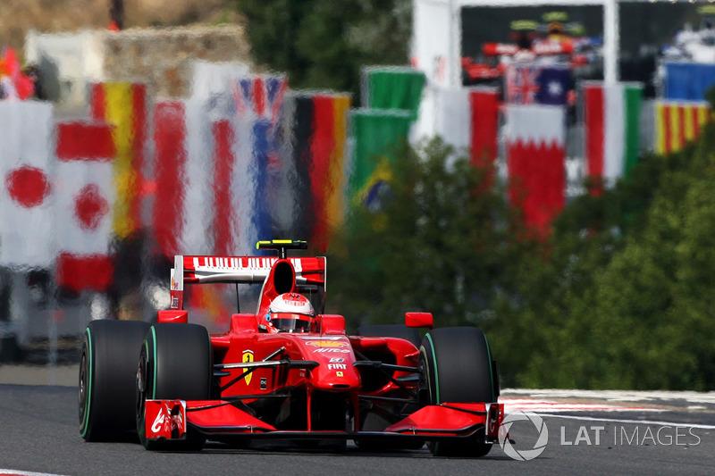 2009: Кими Райкконен, Ferrari F60