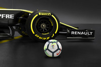 سيارة فريق رينو والإعلان عن لاليغا