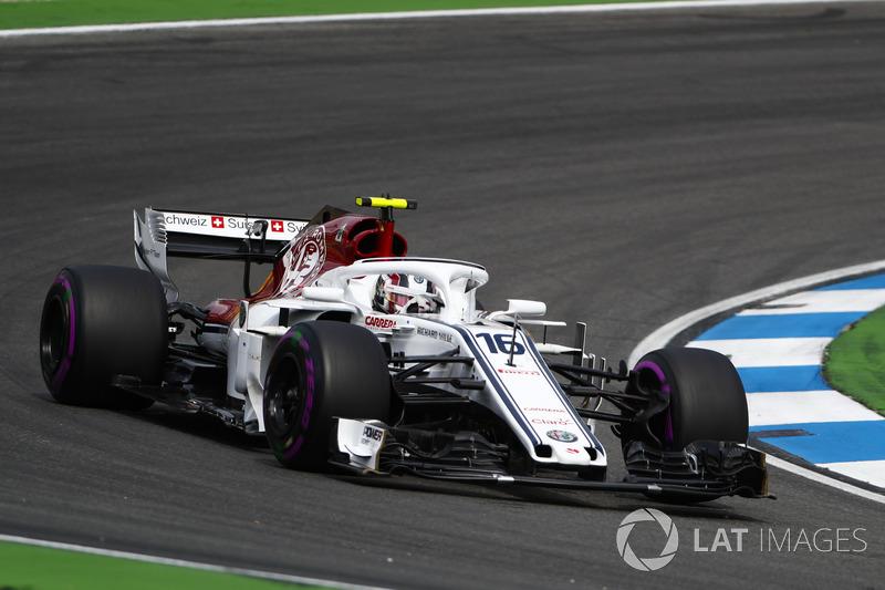 P15: Charles Leclerc, Sauber C37