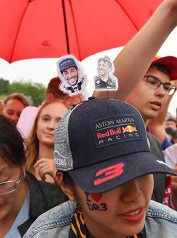 Daniel Ricciardo, Red Bull Racing fan