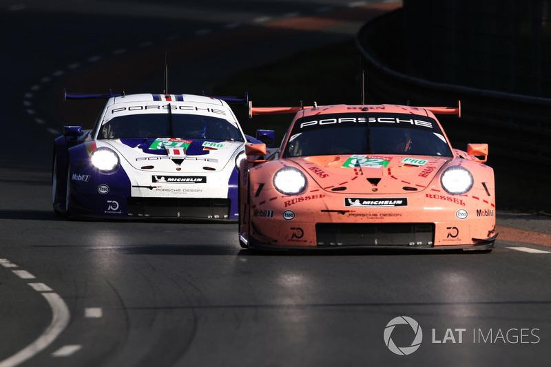 Quand Porsche fait cohabiter passé et présent au Mans