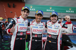 Победители Себастьен Буэми, Казуки Накаджима, Фернандо Алонсо, Toyota Gazoo Racing