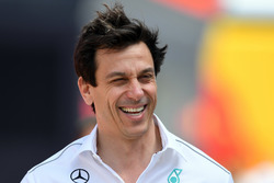 Toto Wolff, Mercedes AMG F1 Director of Motorsport Mark