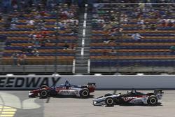 Tony Kanaan, A.J. Foyt Enterprises Chevrolet, Graham Rahal, Rahal Letterman Lanigan Racing Honda