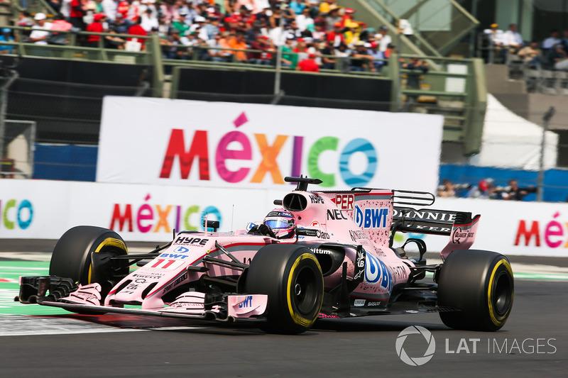 5. Серхио Перес (155 Гран При)
