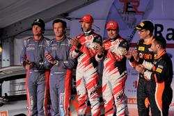 Bernd Casier, Pieter Vyncke, Duimdistel, Giandomenico Basso, Lorenzo Granai, BRC Racing, und Michael