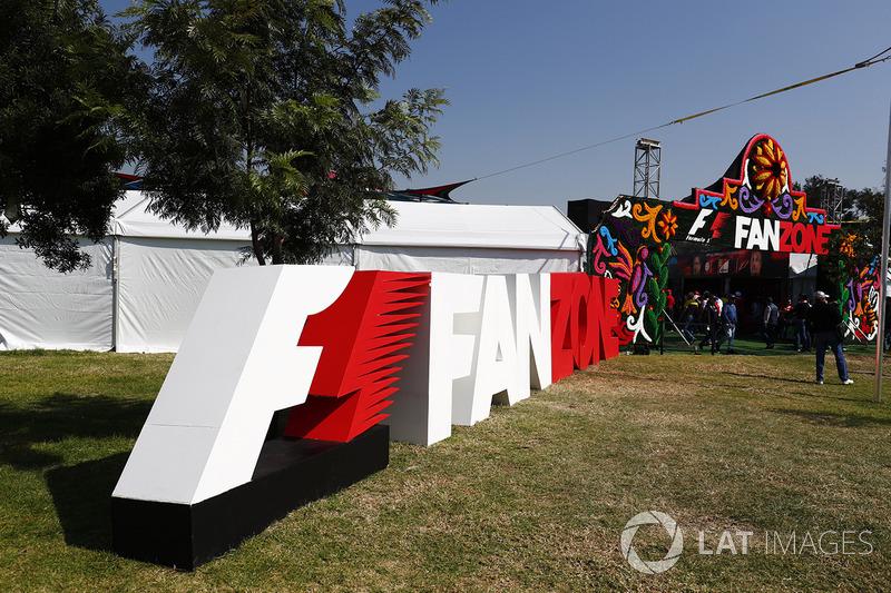 La entrada de la F1 Fanzone