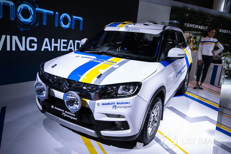 Maruti Suzuki Vitara Brezza rally version