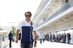 Felipe Massa, Williams, padokta