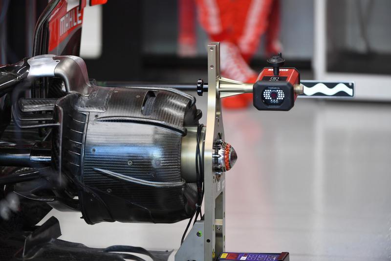 Buje de rueda Ferrari SF71H