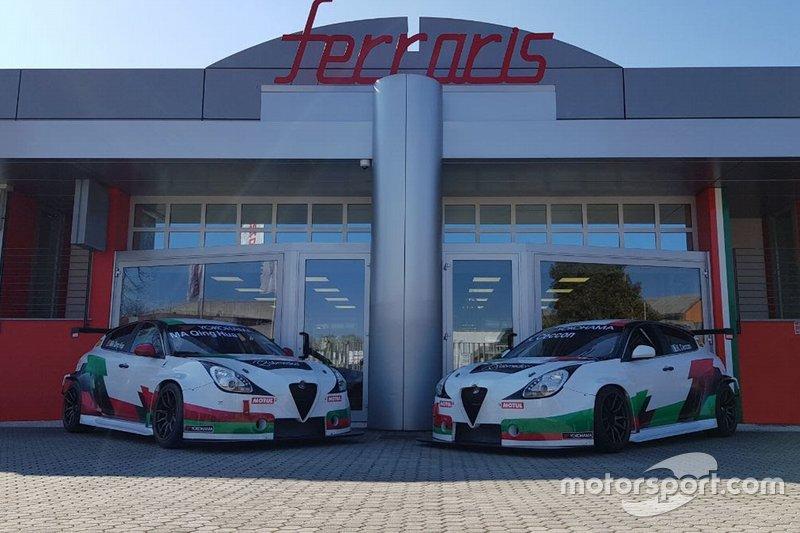 Presentazione livrea Team Mulsanne-Romeo Ferraris