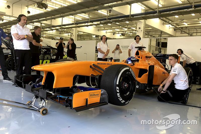 Fernando Alsonso, McLaren