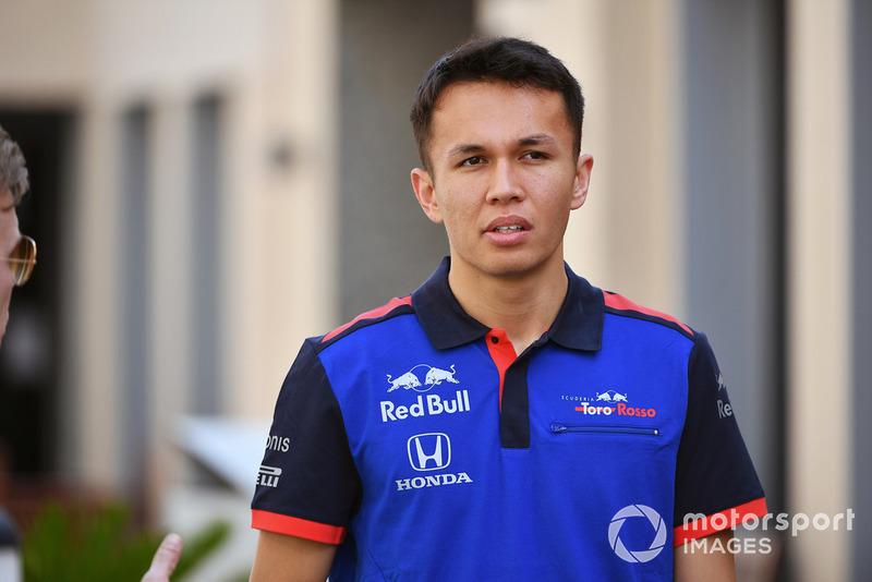 Александр Албон, Scuderia Toro Rosso