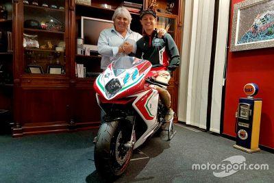 Anuncio de Aegerter - MV Agusta Forward Racing
