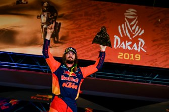 Podium : Red Bull KTM Factory Racing KTM: Toby Price