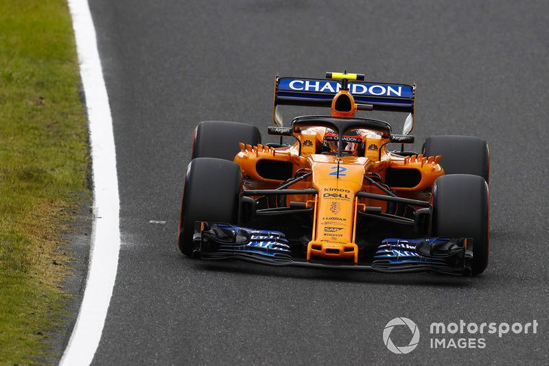 На решающем круге в квалификации Вандорн ошибся при переключении передач