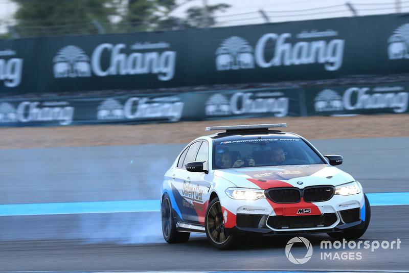 La voiture de sécurité BMW