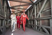 Felipe Massa, Williams and Kimi Raikkonen, Ferrari