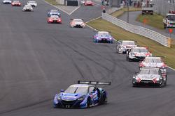 Départ de la course GT500