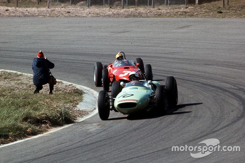 Мастен Грегорі, Lotus 18 Climax, Рікардо Родрігес, Ferrari Dino 156