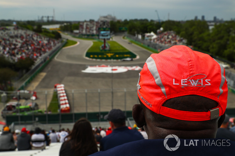 Гран Прі Канади. Фанат Льюіса Хемілтона, Mercedes AMG F1