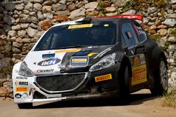 Kalle Rovanpera, Risto Pietilainen, Peugeot 208T16