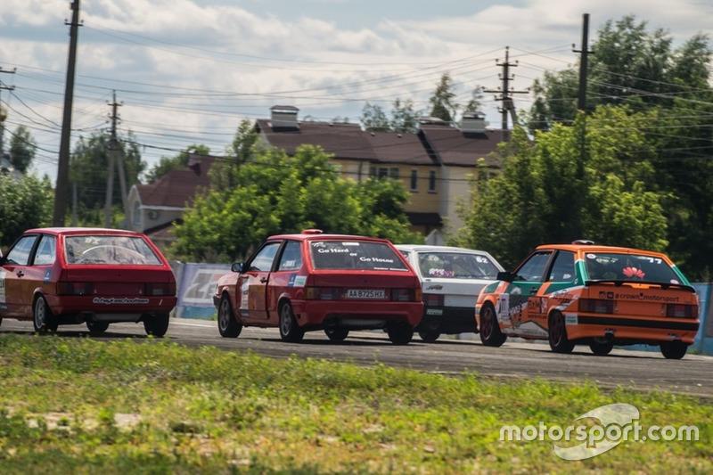 Старт гонки У-1600