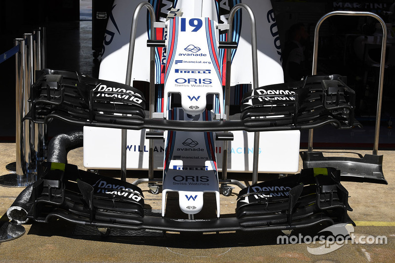 Williams FW40 nose and front wings