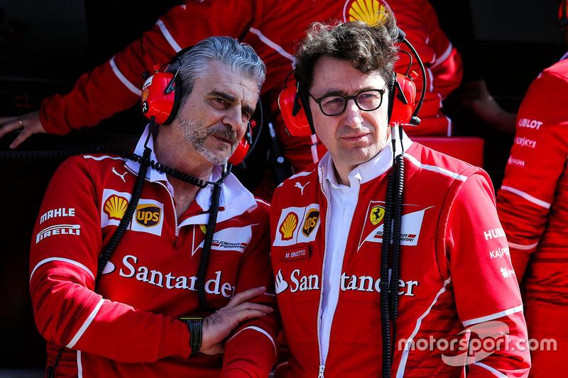 Мауріціо Аррівабене, керівник Ferrari Team та Маттіа Бінотто, технічний директор Ferrari