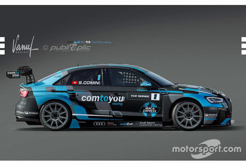 La Audi RS 3 LMS TCR di Stefano Comini