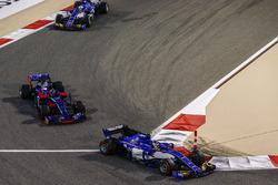 Паскаль Верляйн, Sauber C36, Даниил Квят, Scuderia Toro Rosso STR12, Маркус Эрикссон, Sauber C36
