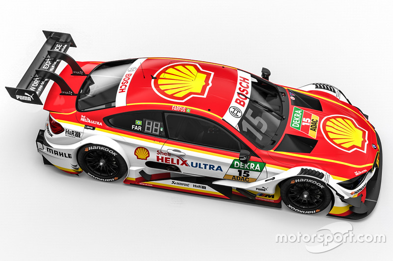 #15: Augusto Farfus, BMW Team RMG, BMW M4 DTM
