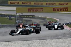 Старт гонки, Льюіс Хемілтон, Mercedes AMG F1 W08