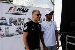 Valtteri Bottas, Mercedes AMG F1, Lewis Hamilton, Mercedes AMG F1, on the F1 stage