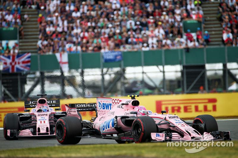 Серхіо Перес, Естебан Окон, Force India VJM10