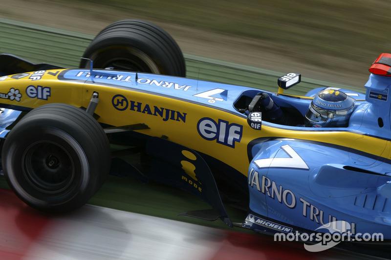 11: Jarno Trulli: 159 GPs (63,10% dos disputados)