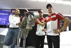 Claudio Domenicali, Ducati CEO, Andrea Dovizioso, Ducati Team, Michele Pirro, Ducati Team, Jorge Lor