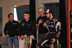 Gianmarco Ercoli, Alex Caffi und Alon Day
